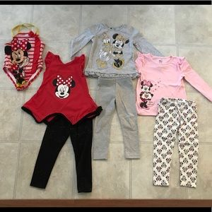 Minnie Mouse 3t Lot swimsuit fall spring
